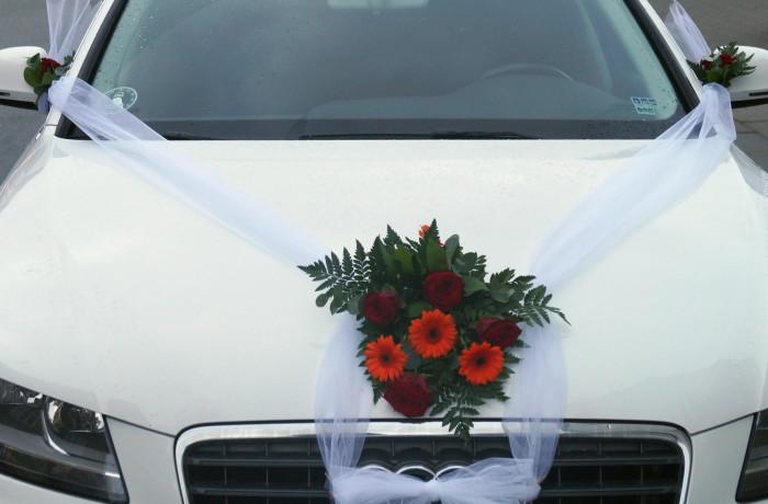 Bryllup bilpynt